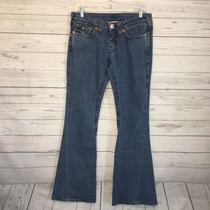 True Religion Johnny Super T flare Jeans 29